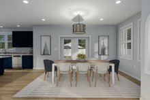 Dream House Plan - Traditional Interior - Dining Room Plan #1060-32
