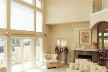 House Design - Mediterranean house plan, living room photo