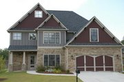 Craftsman Style House Plan - 4 Beds 3 Baths 2372 Sq/Ft Plan #419-199 Exterior - Front Elevation