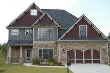Dream House Plan - Craftsman Exterior - Front Elevation Plan #419-199