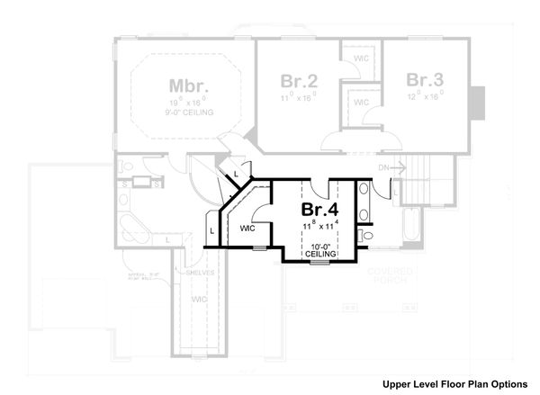 House Plan Design - Craftsman Floor Plan - Other Floor Plan #20-2366