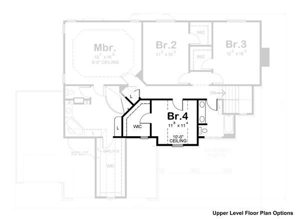 Home Plan - Craftsman Floor Plan - Other Floor Plan #20-2366