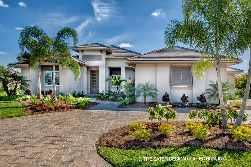 Dream House Plan - Contemporary Exterior - Front Elevation Plan #930-476