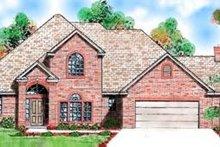 Home Plan Design - European Exterior - Front Elevation Plan #52-152