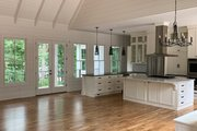 Craftsman Style House Plan - 3 Beds 3 Baths 2995 Sq/Ft Plan #437-112 Interior - Family Room