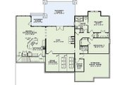 Craftsman Style House Plan - 6 Beds 4.5 Baths 6089 Sq/Ft Plan #17-2375 Floor Plan - Lower Floor Plan