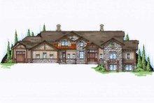 Bungalow Exterior - Front Elevation Plan #5-422
