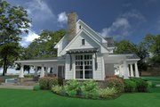 Farmhouse Style House Plan - 3 Beds 3 Baths 2396 Sq/Ft Plan #120-251 Exterior - Other Elevation