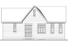 Dream House Plan - Traditional Exterior - Rear Elevation Plan #23-2302