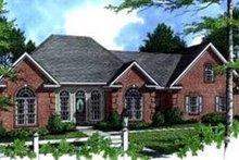 House Plan Design - European Exterior - Front Elevation Plan #21-119