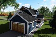 Farmhouse Style House Plan - 3 Beds 3 Baths 2025 Sq/Ft Plan #70-1419 Exterior - Rear Elevation