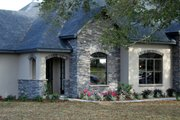 European Style House Plan - 3 Beds 3 Baths 2450 Sq/Ft Plan #534-1 Exterior - Other Elevation