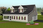 Country Style House Plan - 0 Beds 0 Baths 2525 Sq/Ft Plan #75-202 Exterior - Front Elevation