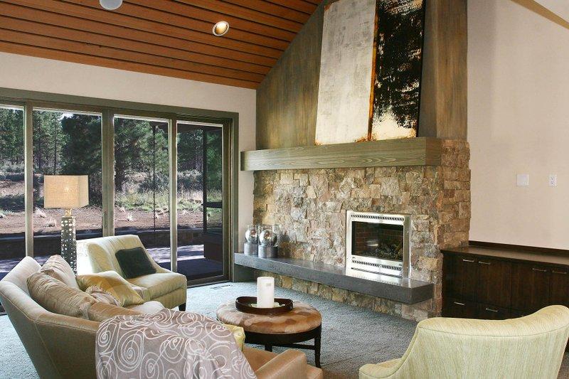 Craftsman Interior - Family Room Plan #892-7 - Houseplans.com