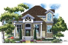House Plan Design - Traditional Exterior - Front Elevation Plan #930-148