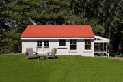 Farmhouse Style House Plan - 1 Beds 1 Baths 388 Sq/Ft Plan #889-3 Exterior - Other Elevation