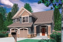 Home Plan - Traditional style floor plan 48-113 at Houseplans.com: 1-800-913-2350