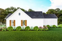 Architectural House Design - Farmhouse Exterior - Other Elevation Plan #406-9667