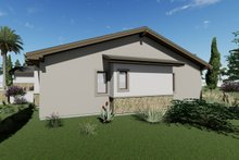 Architectural House Design - Adobe / Southwestern Exterior - Other Elevation Plan #1069-22