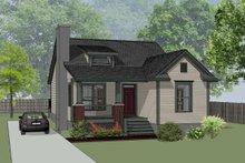 Dream House Plan - Farmhouse Exterior - Front Elevation Plan #79-159