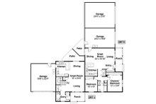 Contemporary Floor Plan - Main Floor Plan Plan #124-804