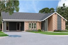 Home Plan - Ranch Exterior - Front Elevation Plan #45-575