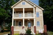 Craftsman Style House Plan - 4 Beds 3 Baths 2288 Sq/Ft Plan #461-34 Photo