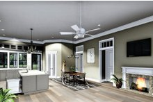 Dream House Plan - Bungalow Interior - Family Room Plan #44-238
