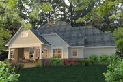 Craftsman Style House Plan - 3 Beds 2.5 Baths 2575 Sq/Ft Plan #120-183 Exterior - Rear Elevation