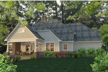 Craftsman Exterior - Rear Elevation Plan #120-183