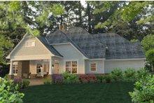 House Design - Craftsman Exterior - Rear Elevation Plan #120-183