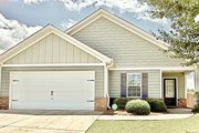 Craftsman Style House Plan - 3 Beds 2 Baths 1545 Sq/Ft Plan #437-99 Exterior - Front Elevation