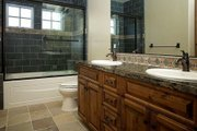 Craftsman Style House Plan - 4 Beds 2.5 Baths 3542 Sq/Ft Plan #899-1 Interior - Master Bathroom