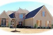 European Style House Plan - 4 Beds 3.5 Baths 3692 Sq/Ft Plan #81-1207 Exterior - Front Elevation