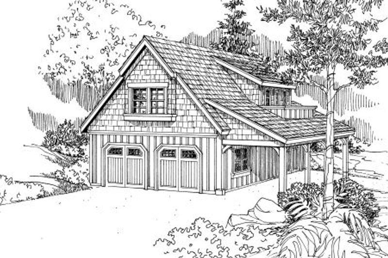 Home Plan - Craftsman Exterior - Front Elevation Plan #124-657