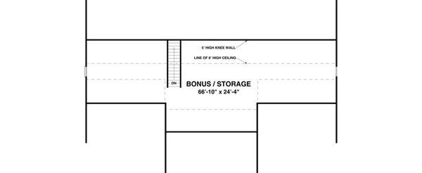 Country Floor Plan - Other Floor Plan Plan #56-643