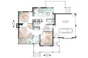 Farmhouse Style House Plan - 3 Beds 2.5 Baths 2185 Sq/Ft Plan #23-2651 Floor Plan - Main Floor