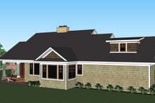 House Plan Design - Craftsman Exterior - Other Elevation Plan #51-513
