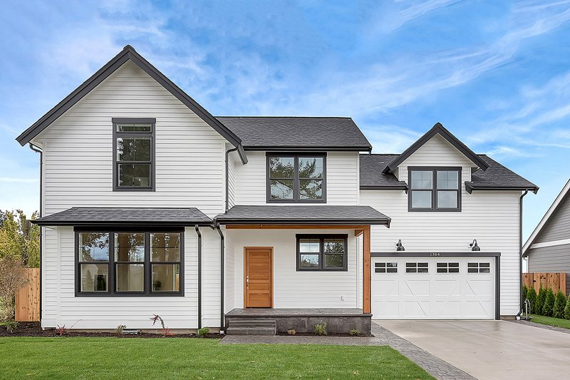 House Design - Farmhouse Exterior - Front Elevation Plan #1070-1