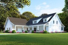 Farmhouse Exterior - Front Elevation Plan #923-106