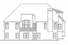 Home Plan - European Exterior - Rear Elevation Plan #419-166