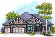 Dream House Plan - Bungalow Exterior - Front Elevation Plan #70-948
