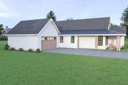 Craftsman Style House Plan - 3 Beds 2 Baths 1677 Sq/Ft Plan #1070-90