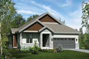 Traditional Style House Plan - 3 Beds 2 Baths 1621 Sq/Ft Plan #25-4363 Exterior - Front Elevation
