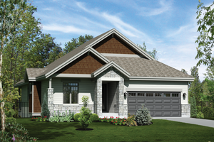 Traditional Exterior - Front Elevation Plan #25-4363