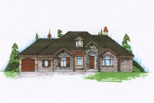House Plan Design - Traditional Exterior - Front Elevation Plan #5-275