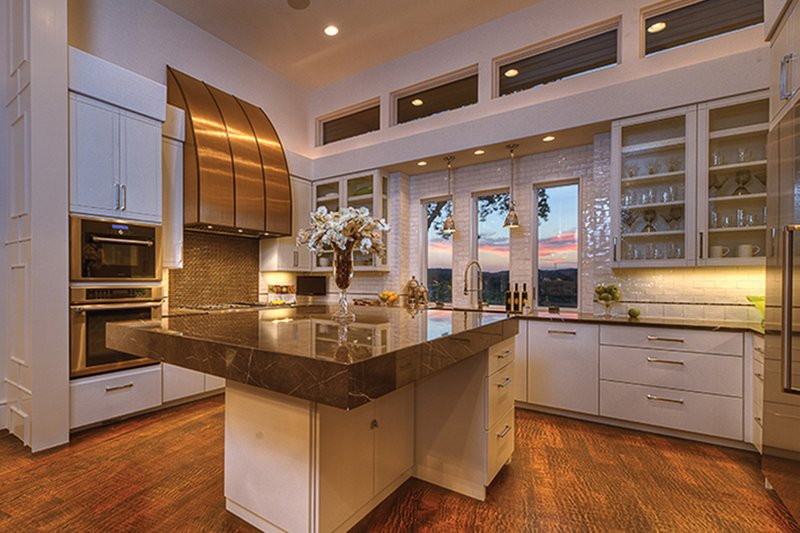 Contemporary Interior - Kitchen Plan #935-5 - Houseplans.com