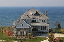 Dream House Plan - Craftsman Exterior - Front Elevation Plan #928-7