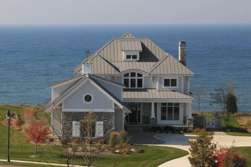 Craftsman Exterior - Front Elevation Plan #928-7