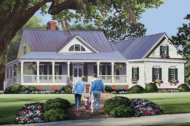 House Plans With Wraparound Porch At
